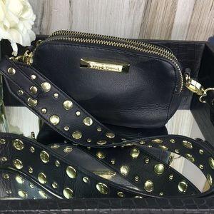 Steve Madden Bags - Steve Madden Studded Black Crossbody Bag